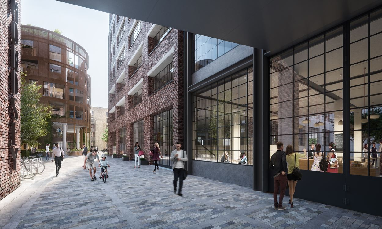 Local businesses Southwark Studios and The Drawing Room (Tannery Arts) will be returning to the new London Square, Bermondsey development when it is completed.