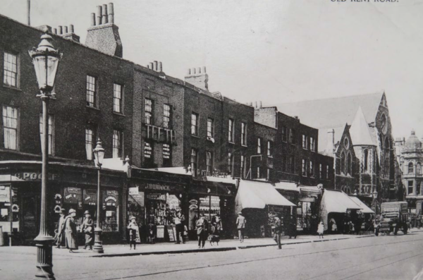 Old Kent Road shop fronts